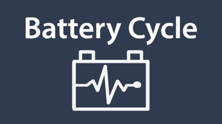 Imeon app battery cycle