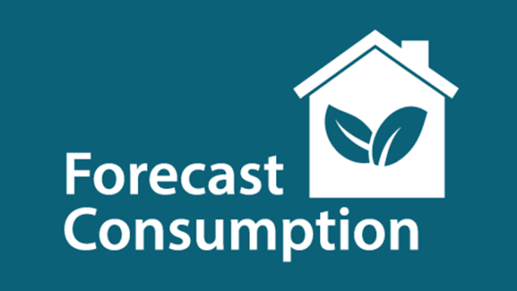 Imeon app forecast consumption