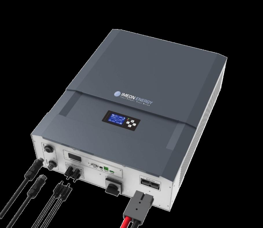 IMEON ENERGY - solar hybrid inverters